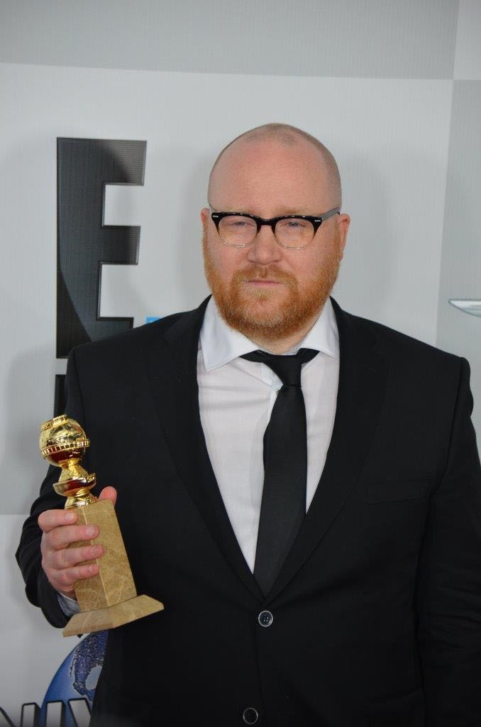 Johann Johannsson   Golden Globes 2015   Photo : Genevieve Collins
