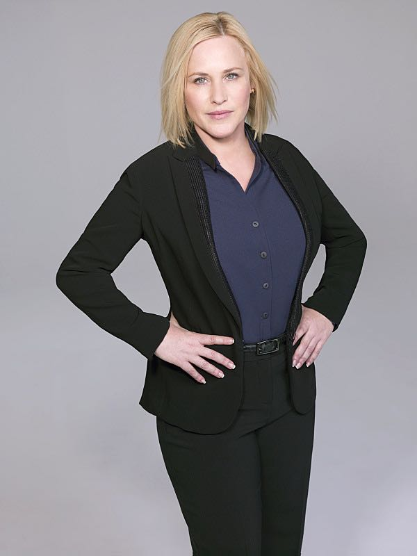 Patricia Arquette as Special Agent Avery Ryan on the CBS drama CSI: CYBER