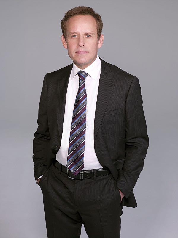 Peter MacNicol as Simon Sifter on the CBS drama CSI: CYBER