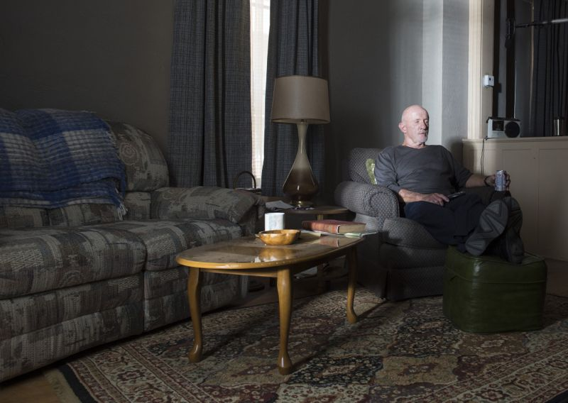 Jonathan Banks as Mike Ehrmantraut - Better Call Saul _ Season 1, Episode 5 - Photo Credit: Ursula Coyote/AMC