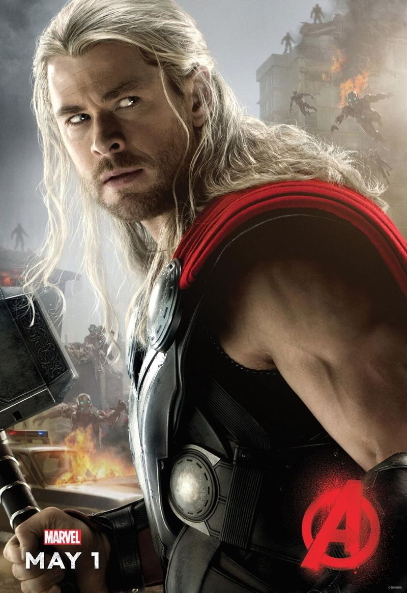 the-avengers-age-of-ultron-thor-poster-chris-hemsworth