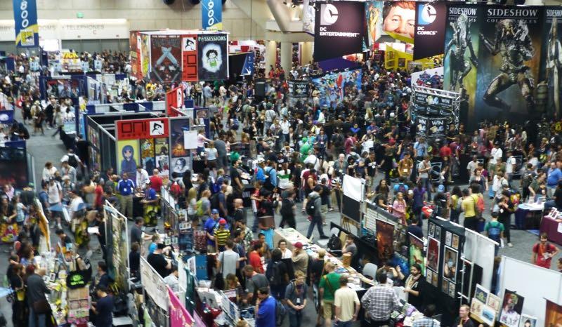 Comic Con Floor
