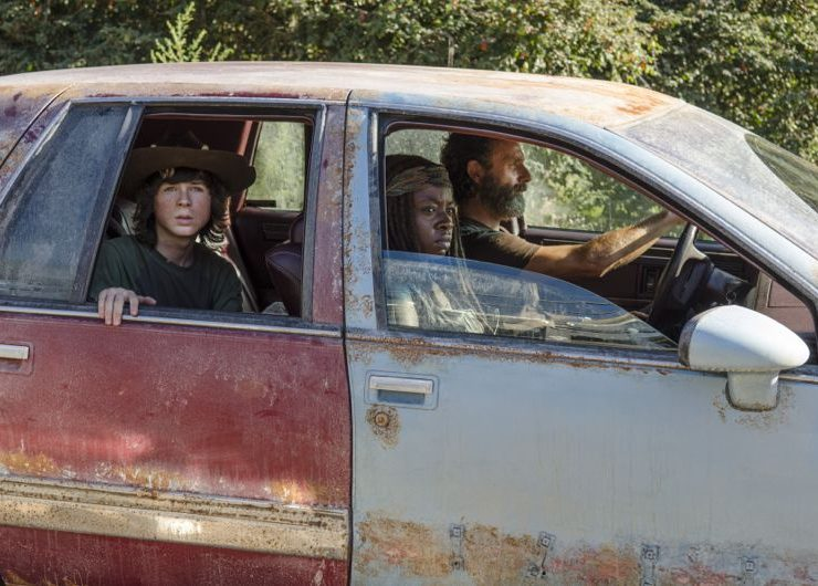 The Walking Dead Recap 5x11 The Distance