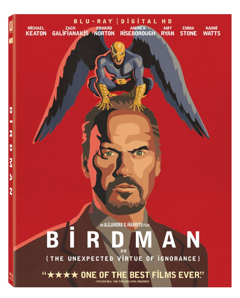 Birdman Bluray Cover