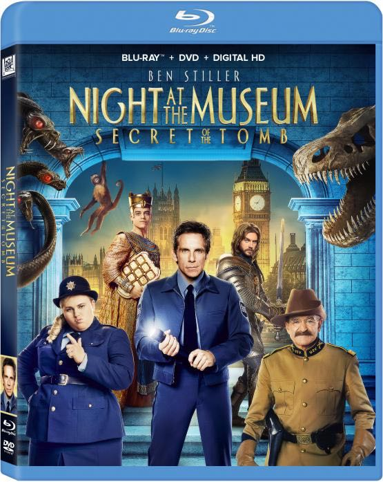 NIGHT AT THE MUSEUM SECRET OF THE TOMB Bluray