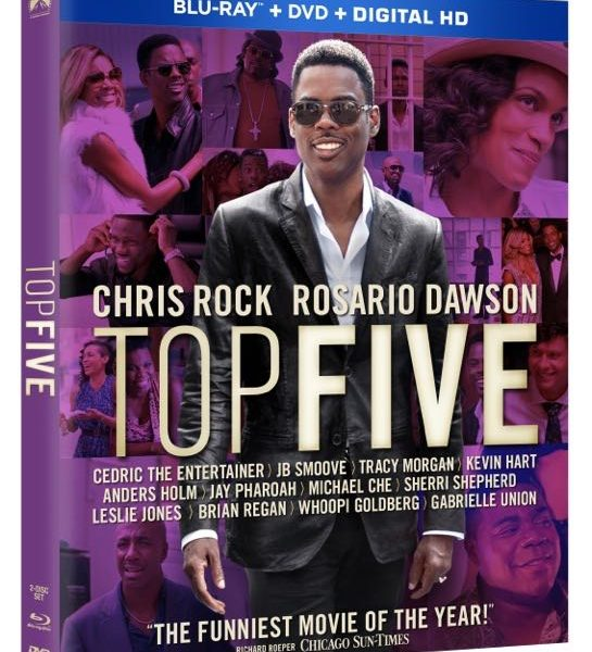 Top Five Bluray Cover