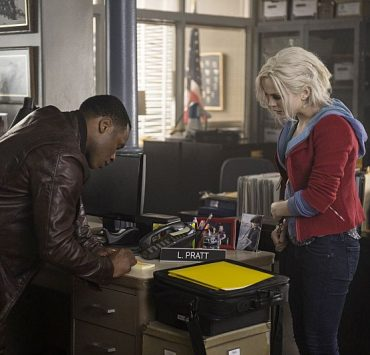 "iZombie Malcolm Goodwin as Clive Babineaux and Rose McIver as Olivia ""Liv"" Moore"