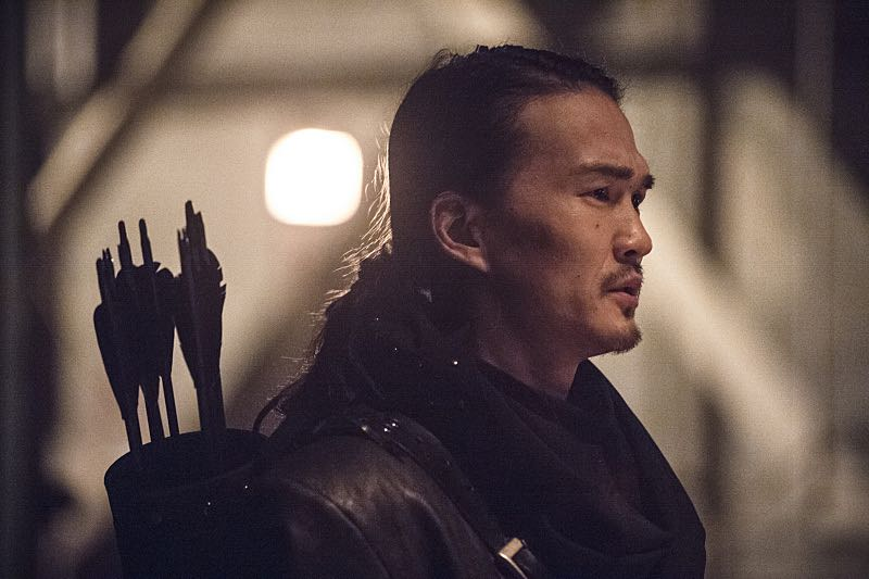 "Arrow -- ""Suicidal Tendencies"" -- Image AR317B_0079b -- Pictured: Karl Yune as Maseo -- Photo: Cate Cameron/The CW -- © 2015 The CW Network, LLC. All Rights Reserved."