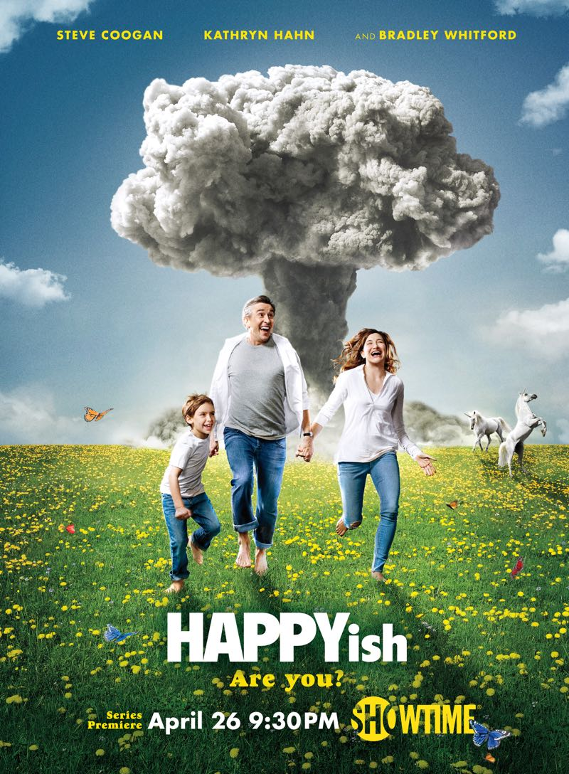 HAPPYish Poster Key Art Showtime