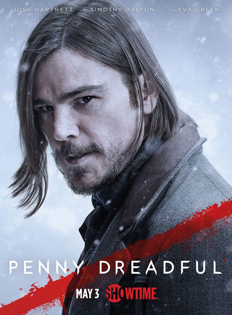 Penny Dreadful Season 2 Poster Josh Hartnett 1