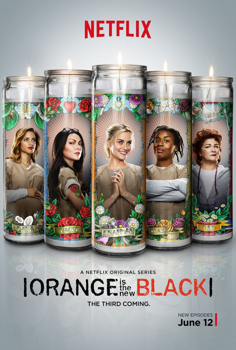 ORANGE IS THE NEW BLACK Season 3 Poster