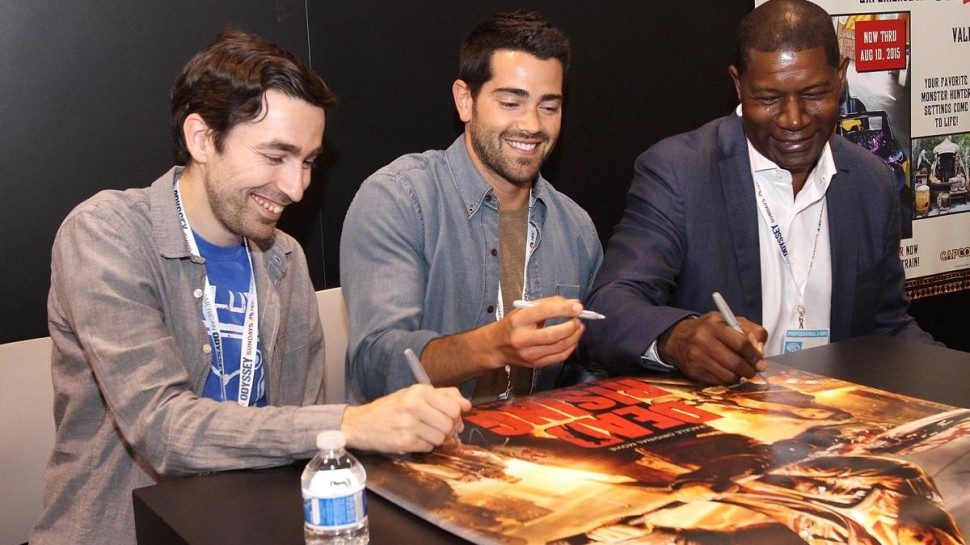 Jesse-Metcalfe-Dennis-Haysbert-Wondercon-Interview-Dead-Rising-Watchtower