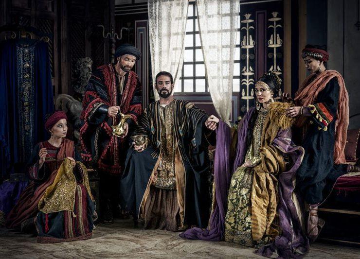A.D.THE BIBLE CONTINUES Marama Corlett as Tabitha, Jim Sturgeon as Chuza, James Callis as Antipas, Claire Cooper as Herodias, Farzana Dua Elahe as Joanna