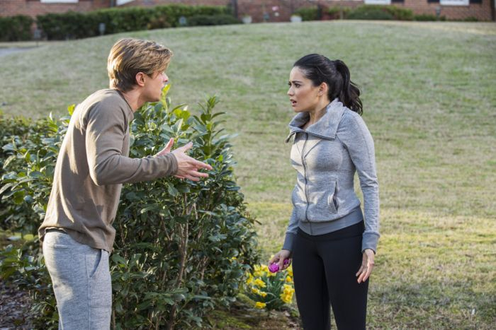(L-R) Drew Van Acker and Edy Ganem star in season three of Lifetime's hit series Devious Maids, premiering Monday, June 1st, at 9pm ET/PT on Lifetime.