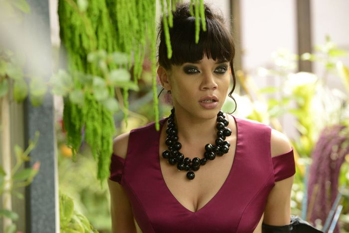 "KILLJOYS -- ""Bangarang"" Episode 101 -- Pictured: Hannah John-Kamen as Dutch -- (Photo by: Steve Wilkie/Syfy)"