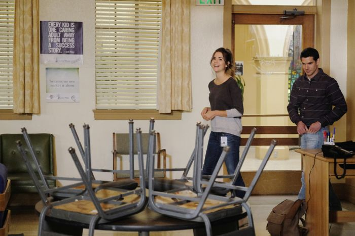 """THE FOSTERS - """"Wreckage"""" - In the season premiere, summer has brought many changes for the Adams Foster family. (ABC Family/Tony Rivetti) MAIA MITCHELL, ALBERTO DE DIEGO"""
