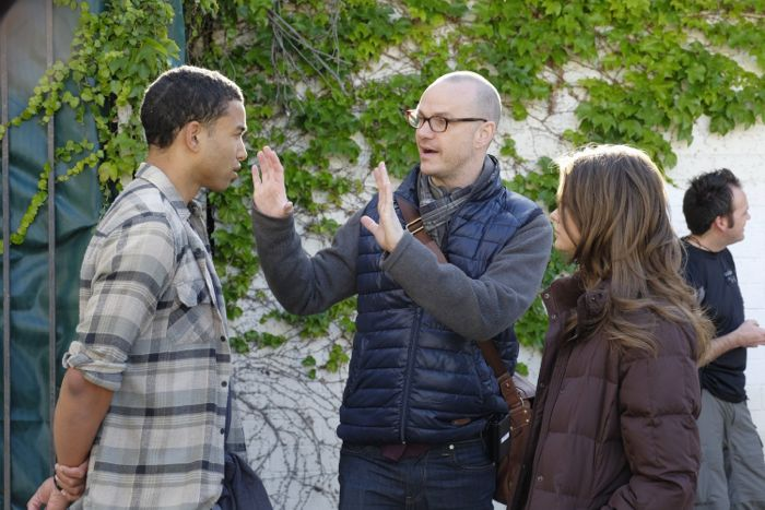 """THE FOSTERS - """"Wreckage"""" - In the season premiere, summer has brought many changes for the Adams Foster family. (ABC Family/Tony Rivetti) TOM WILLIAMSON, PETER PAIGE (DIRECTOR), MAIA MITCHELL"""