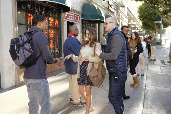 """THE FOSTERS - """"Wreckage"""" - In the season premiere, summer has brought many changes for the Adams Foster family. (ABC Family/Tony Rivetti) TOM WILLIAMSON, MAIA MITCHELL, PETER PAIGE (DIRECTOR)"""