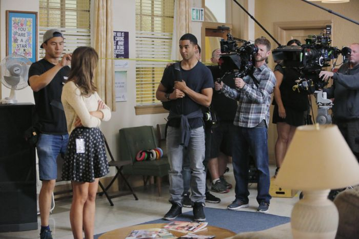 """THE FOSTERS - """"Wreckage"""" - In the season premiere, summer has brought many changes for the Adams Foster family. (ABC Family/Tony Rivetti) TOM WILLIAMSON"""