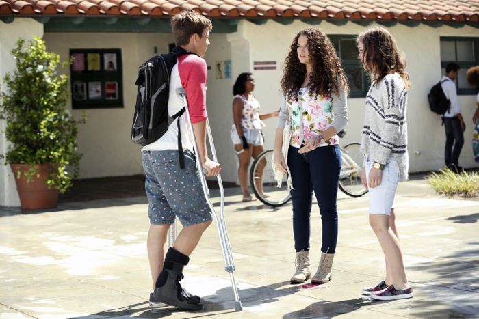 """THE FOSTERS - """"Wreckage"""" - In the season premiere, summer has brought many changes for the Adams Foster family. (ABC Family/Adam Taylor) GAVIN MACINTOSH, MADISON PETTIS, IZABELA VIDOVIC"""