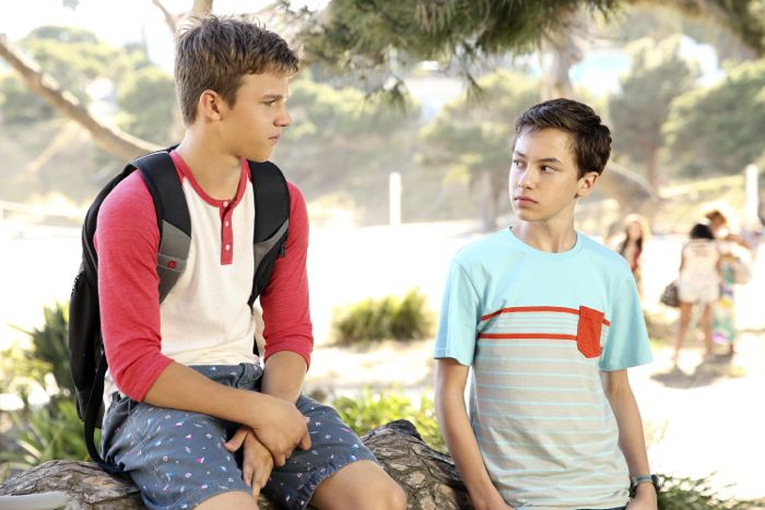 """THE FOSTERS - """"Wreckage"""" - In the season premiere, summer has brought many changes for the Adams Foster family. (ABC Family/Adam Taylor) GAVIN MACINTOSH, HAYDEN BYERLY"""