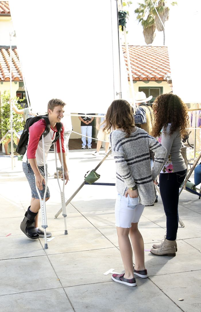"""THE FOSTERS - """"Wreckage"""" - In the season premiere, summer has brought many changes for the Adams Foster family. (ABC Family/Adam Taylor) GAVIN MACINTOSH"""