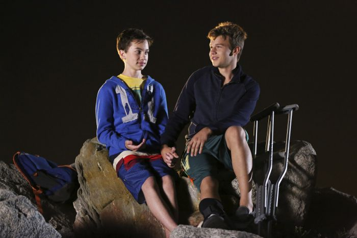 """THE FOSTERS - """"Wreckage"""" - In the season premiere, summer has brought many changes for the Adams Foster family. (ABC Family/Adam Taylor) HAYDEN BYERLY, GAVIN MACINTOSH"""