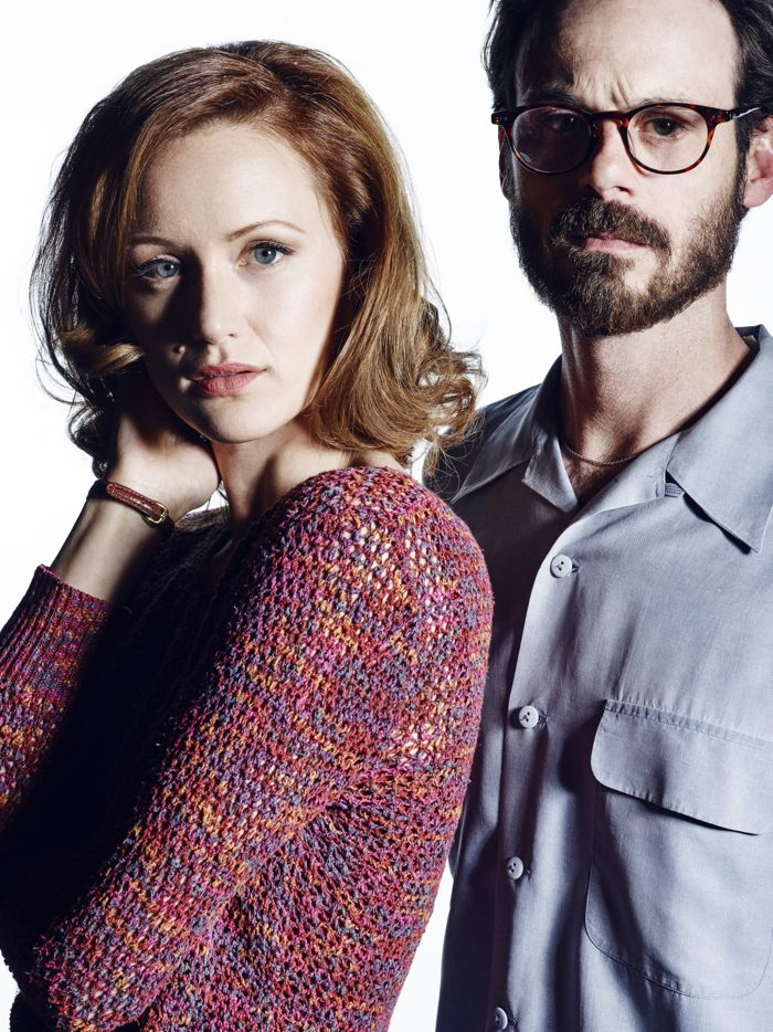 Kerry Bishe as Donna Clark and Scoot McNairy as Gordon Clark - Halt and Catch Fire _ Season 2, Gallery - Photo Credit: Frank Ockenfels 3/AMC