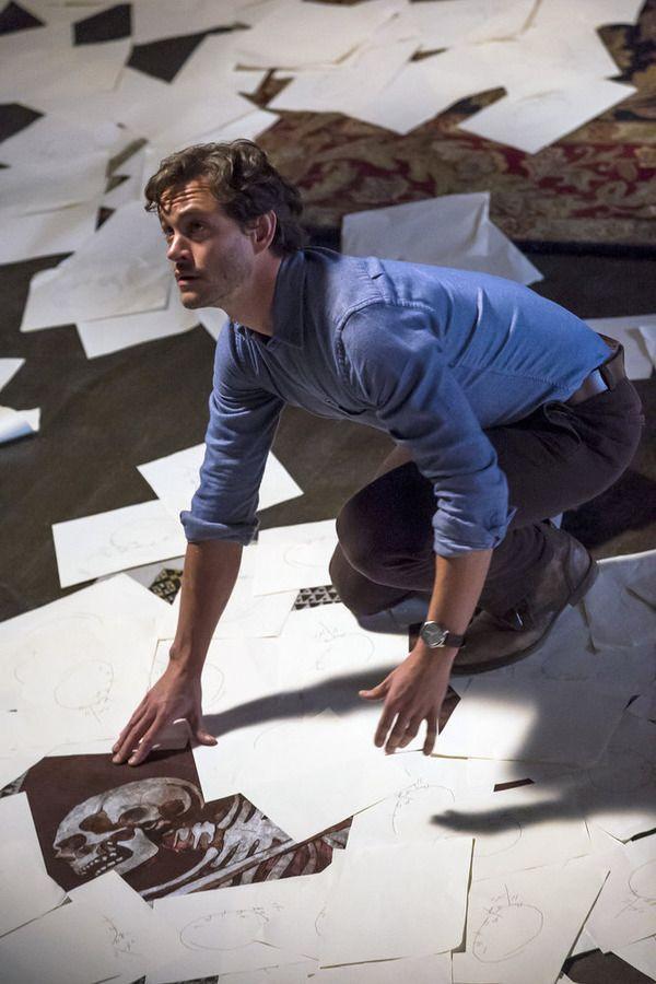 "HANNIBAL -- ""Primavera"" Episode 302 -- Pictured: Hugh Dancy as Will Graham -- (Photo by: Brooke Palmer/NBC)"