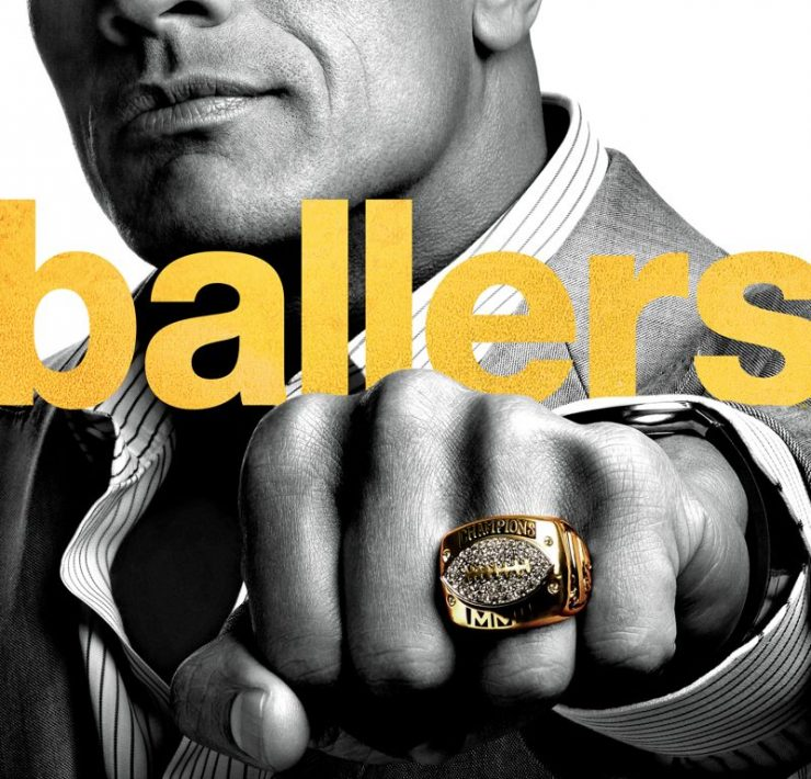 Ballers HBO Dwayne The Rock Johnson