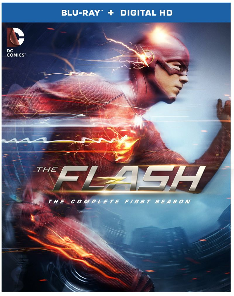 The Flash Season 1 Bluray Cover