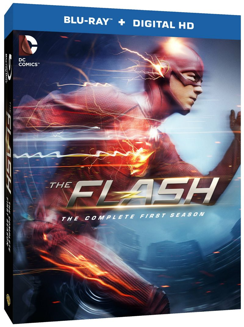 The Flash Season 1 Bluray Cover Artwork