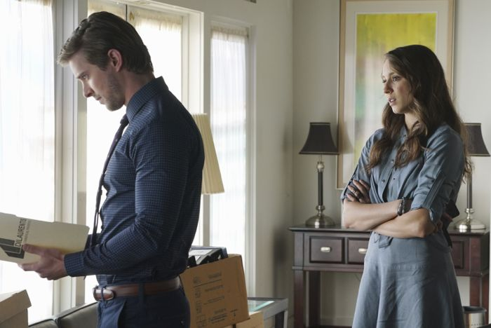"PRETTY LITTLE LIARS - ""Songs of Experience"" - Still in fragile states of mind, the PLLs try to put their lives back to together in ""Songs of Experience,"" an all-new episode of ABC Family's hit original series ""Pretty Little Liars,"" airing Tuesday, June 16th (8:00 - 9:00 PM ET/PT). (ABC Family/Eric McCandless) DREW VAN ACKER, TROIAN BELLISARIO"