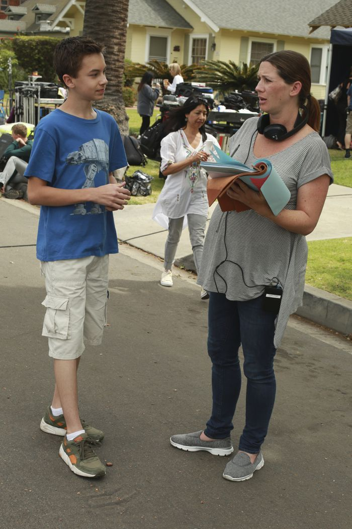 """THE FOSTERS - """"Father's Day"""" - The Adams Foster family celebrates Father's Day in an all-new episode of """"The Fosters,"""" airing Monday, June 15, 2015 at 8:00PM ET/PT on ABC Family. (ABC Family/Ron Tom) HAYDEN BYERLY, APRILL WINNEY (DIRECTOR)"""