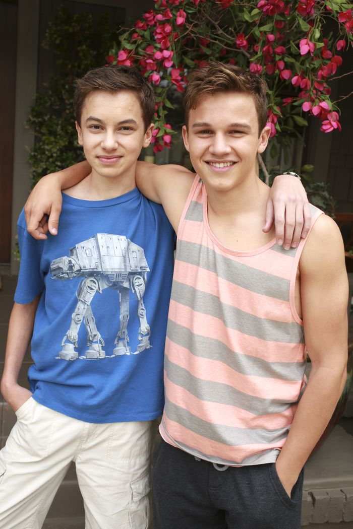 """THE FOSTERS - """"Father's Day"""" - The Adams Foster family celebrates Father's Day in an all-new episode of """"The Fosters,"""" airing Monday, June 15, 2015 at 8:00PM ET/PT on ABC Family. (ABC Family/Ron Tom) HAYDEN BYERLY, GAVIN MACINTOSH"""