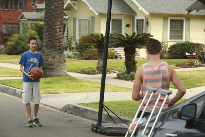 """THE FOSTERS - """"Father's Day"""" - The Adams Foster family celebrates Father's Day in an all-new episode of """"The Fosters,"""" airing Monday, June 15, 2015 at 8:00PM ET/PT on ABC Family. (ABC Family/Ron Tom) HAYDEN BYERLY"""