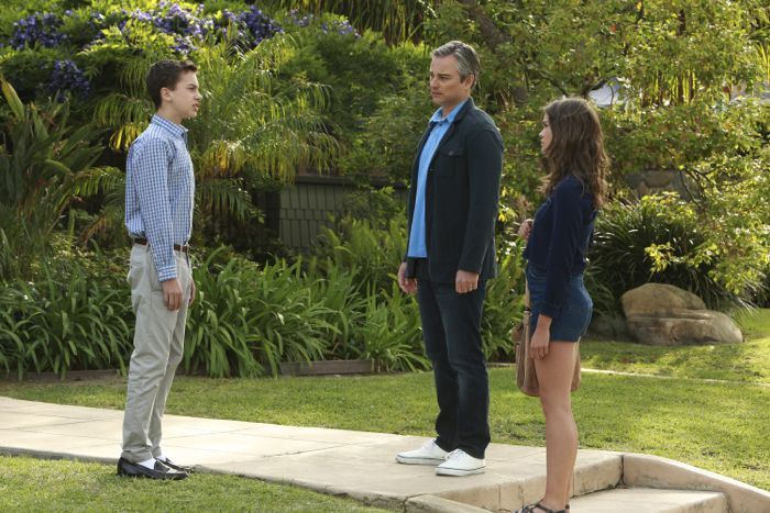 "THE FOSTERS - ""Father's Day"" - The Adams Foster family celebrates Father's Day in an all-new episode of ""The Fosters,"" airing Monday, June 15, 2015 at 8:00PM ET/PT on ABC Family. (ABC Family/Ron Tom) HAYDEN BYERLY, KERR SMITH, MAIA MITCHELL"
