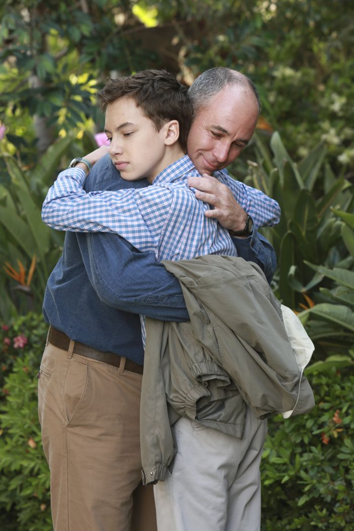 """THE FOSTERS - """"Father's Day"""" - The Adams Foster family celebrates Father's Day in an all-new episode of """"The Fosters,"""" airing Monday, June 15, 2015 at 8:00PM ET/PT on ABC Family. (ABC Family/Ron Tom) HAYDEN BYERLY, JAMIE MCSHANE"""
