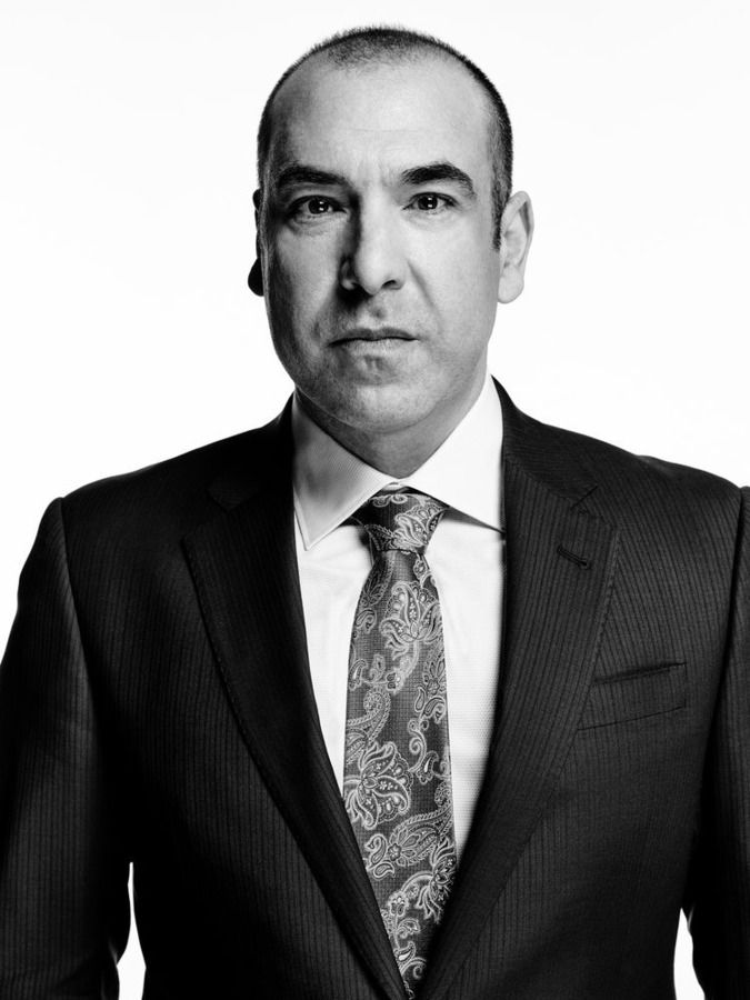 SUITS -- Season:5 -- Pictured: Rick Hoffman as Louis Litt -- (Photo by: Nigel Parry/USA Network)
