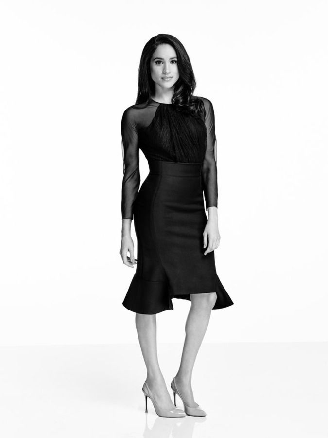 SUITS -- Season:5 -- Pictured: Meghan Markle as Rachel Zane -- (Photo by: Nigel Parry/USA Network)