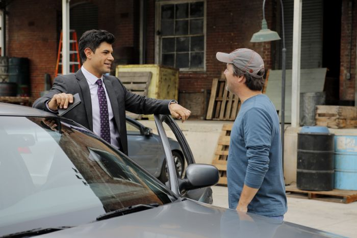 """STITCHERS - """"Friends in Low Places"""" - Kirsten crosses paths with Detective Fisher again when they end up working on the same overdose death of a young woman in an all-new episode of """"Stitchers,"""" airing Tuesday, June 9, 2015 at 9:00PM ET/PT on ABC Family. (ABC Family/Tony Rivetti) DAMON DAYOUB, STEVE ROBIN (DIRECTOR)"""