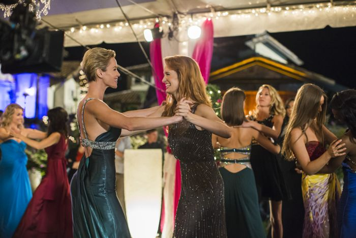 """(L to R) Ashley Scott (""""Mary"""") and Breeda Wool (""""Faith"""") star in Lifetime's all-new drama UnREAL airing, Monday, June 8 at 10pm ET/PT on Lifetime."""