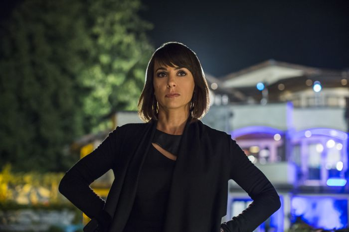 """Constance Zimmer (""""Quinn"""") stars in Lifetime's all-new drama UnREAL airing, Monday, June 8 at 10pm ET/PT on Lifetime."""