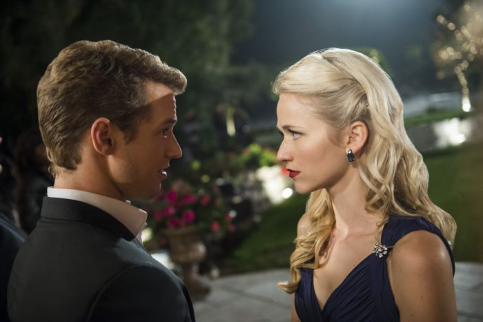 """(L to R) Freddie Stroma and Johanna Braddy (""""Anna"""") star in Lifetime's all-new drama UnREAL airing, Monday, June 8 at 10pm ET/PT on Lifetime."""