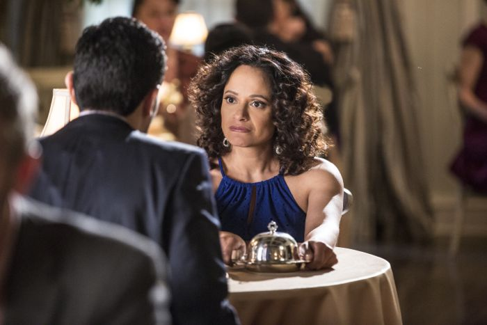 ( L to R) Ivan Hernandez and Judy Reyes star in season three of Lifetime's hit series Devious Maids, premiering Monday, June 8th, at 9pm ET/PT on Lifetime.