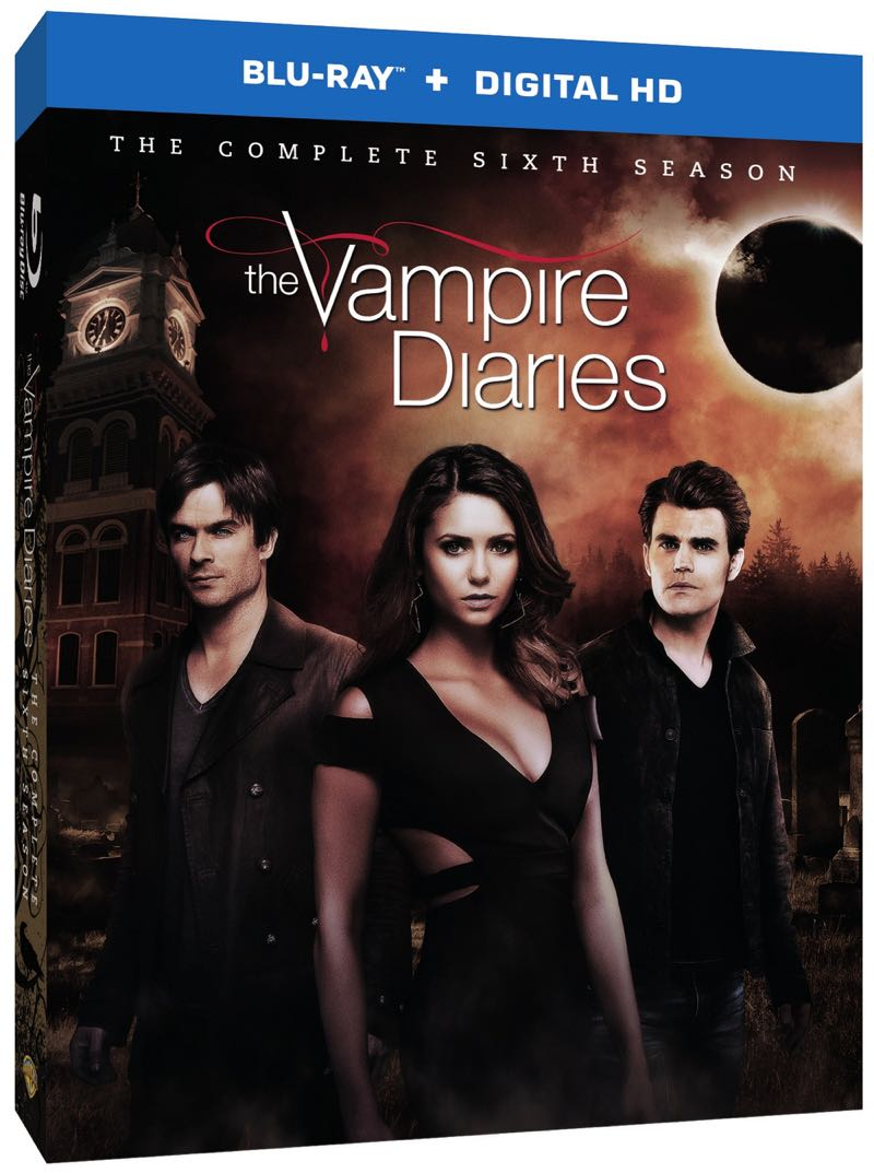 The Vampire Diaries Season 6 Bluray