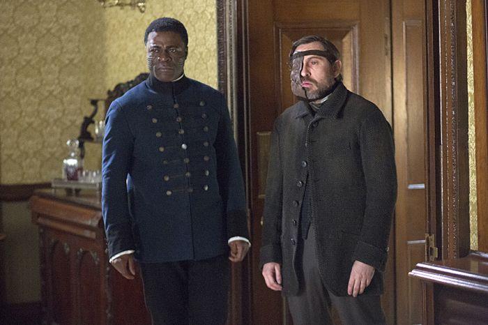 Danny Sapani as Sembene and Stephen Lord as Roper in Penny Dreadful (season 2, episode 6). - Photo: Jonathan Hession/SHOWTIME - Photo ID: PennyDreadful_206_0487