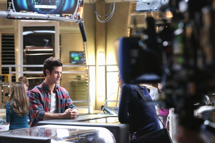 "STITCHERS - ""A Stitch in Time"" - Highly intelligent and emotionally distant, Kirsten Clark has an aptitude for technology but never expected that she'd be hacking into the minds of the recently deceased, in the series premiere of ""Stitchers,"" airing Tuesday, June 2, 2015 at 9:00PM ET/PT on ABC Family. (ABC Family/Adam Taylor) KYLE HARRIS"