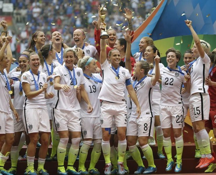 US Womens Soccer Team World Cup