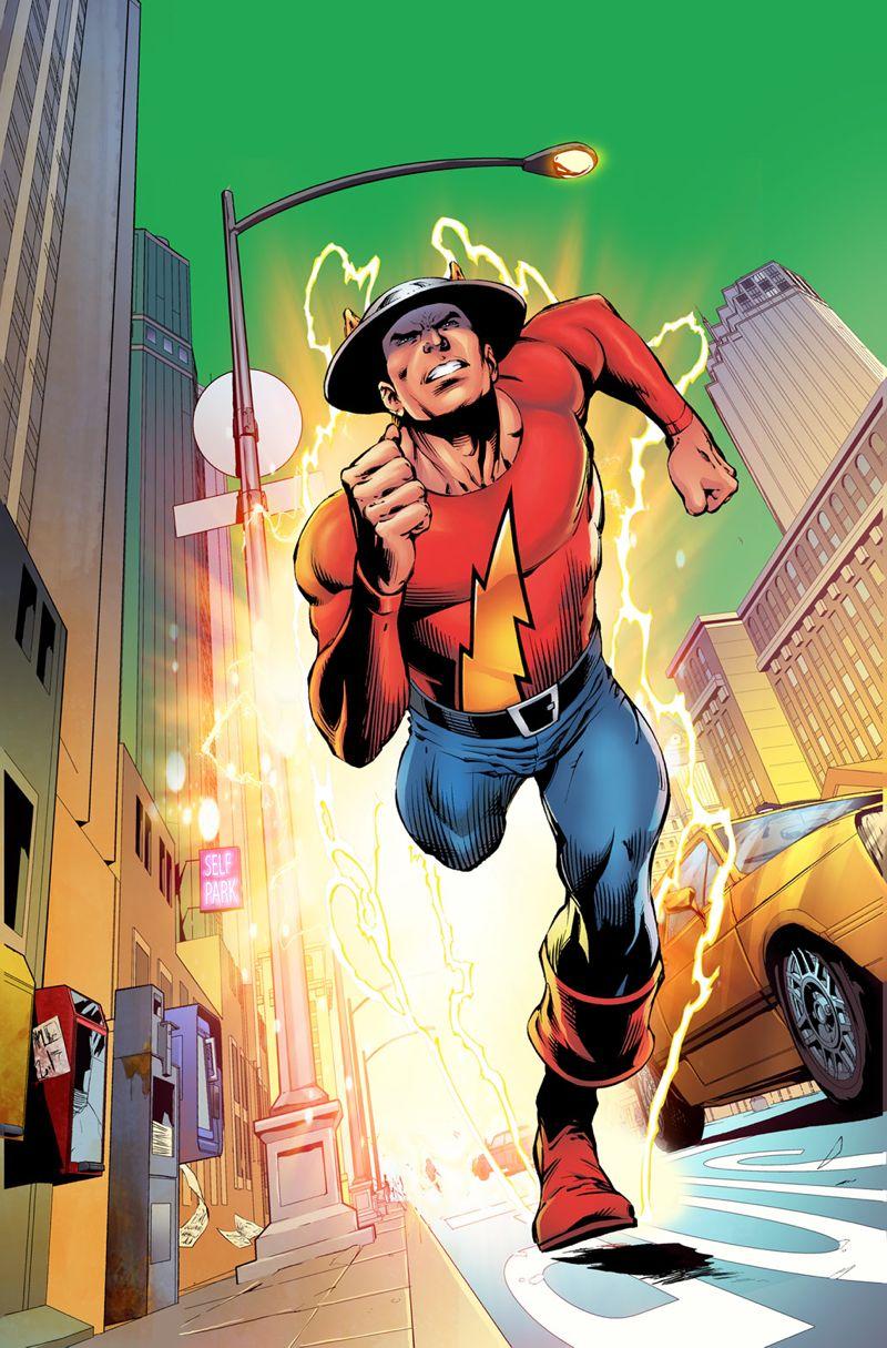 DC Comics Art-Jay Garrick